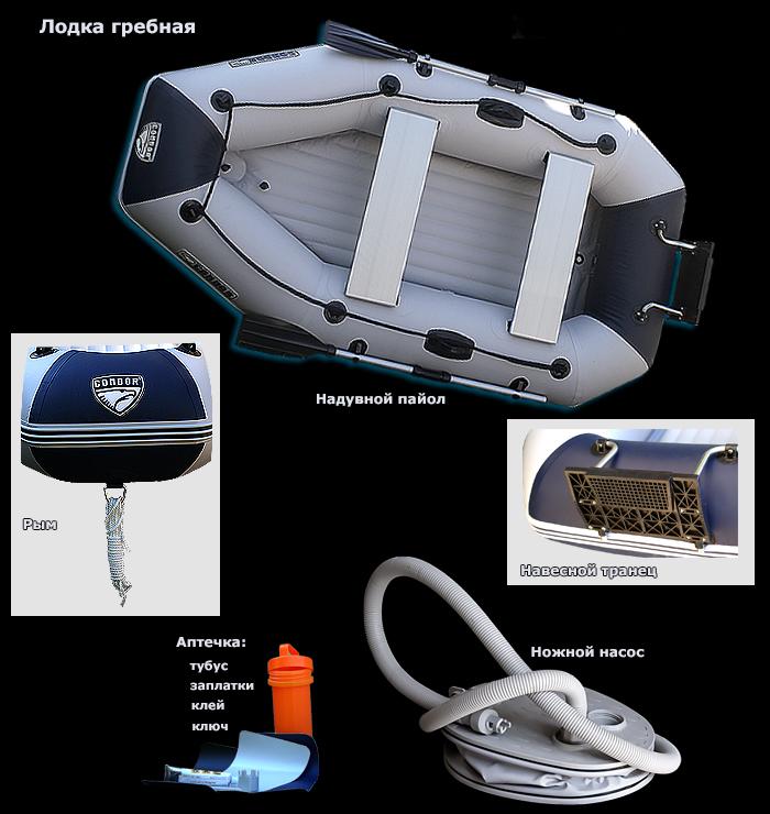 лодка condor ibp-235