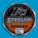 Леска KONGER STEELON FC BASIC FLUOROCARBON COATED 0.22-0.25mm. 100m.