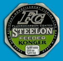 Леска KONGER STEELON FC FEEDER FLUOROCARBON COATED 0.22-0.30mm. 100m.