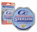 Леска KONGER STEELON CRISTAL CLEAR FLUOROCARBON COATED  0.12-0.25mm.100m.