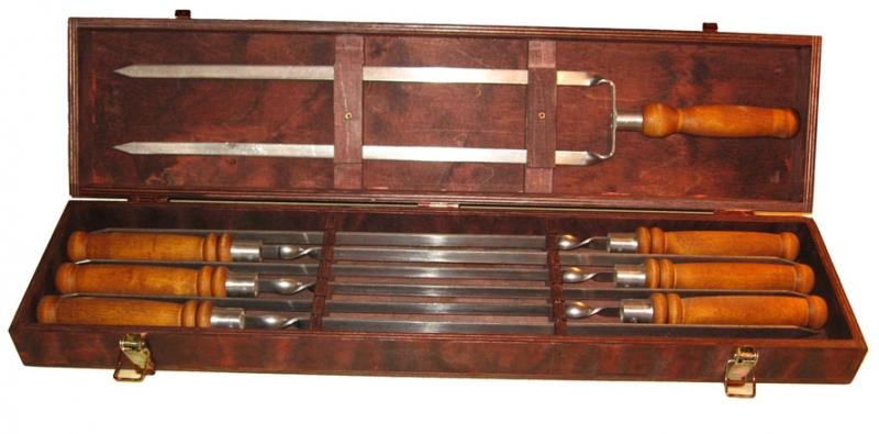 Деревянные ручки для шампуров своими руками